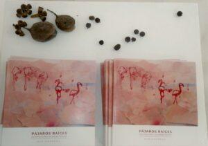 catálogos de exposición en sala (foto M. Úbeda)