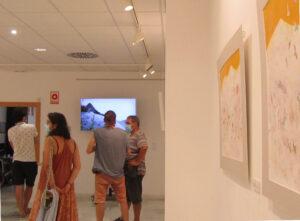 inauguración exposición Pájaros Raíces. fotografias de Maribel Ubeda